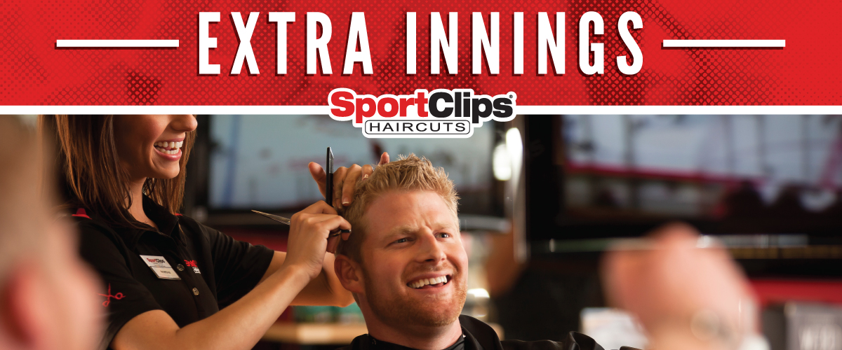 The Sport Clips Haircuts of Westminster  Extra Innings Offerings